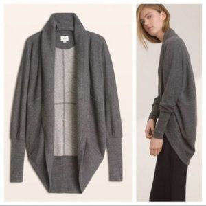 Wilfred Diderot Cocoon Cardigan Gray XXS